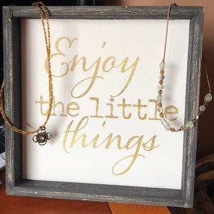 TWO Lia Sofia necklaces 🎉